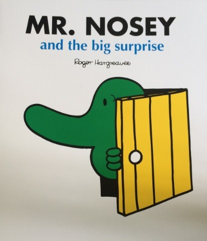 Mr.nosey-and the big surprise