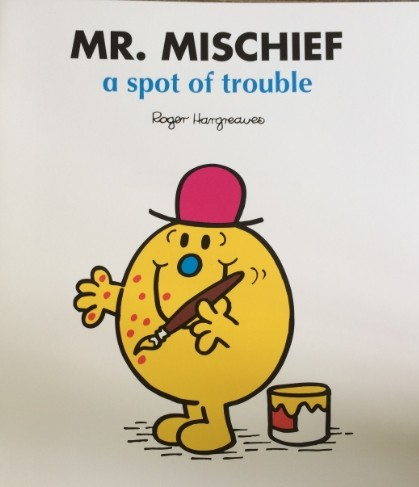 Mr.mischief-a spot of trouble