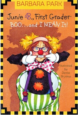 Junie B. Jones:Junie B. Jones Boo and I Mean It