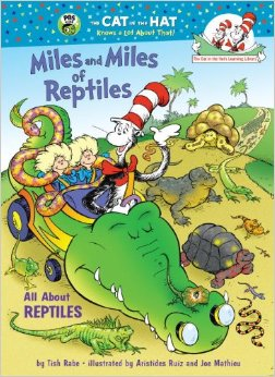The Cat in the Hats Learning Libraby:Miles and Miles of Reptiles  L3.4