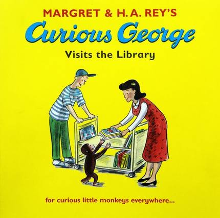 Curious George :Curious George Visits the Library  L2.9