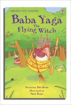 My reading library:Baba Yaga the flying witch