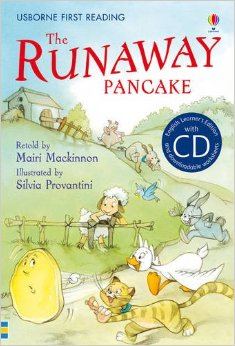 My reading library:The Runaway Pancake