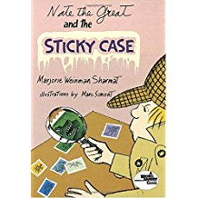 Nate the great:Nate the Great and the Sticky Case    L2.7