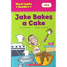 Word Family Readers:Jake bakes a cake