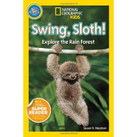 National Geographic Kids Pre-Reader:Swing sloth!