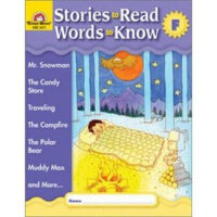 Stories to Read Words to Know Level F Student Boo