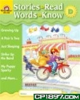 Stories to Read Words to Know Level D Student Boo