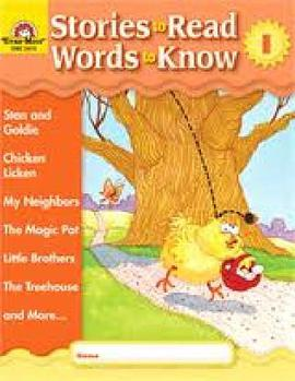 Stories to Read Words to Know Level I Student Boo