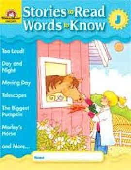Stories to Read Words to Know Level J Student Boo