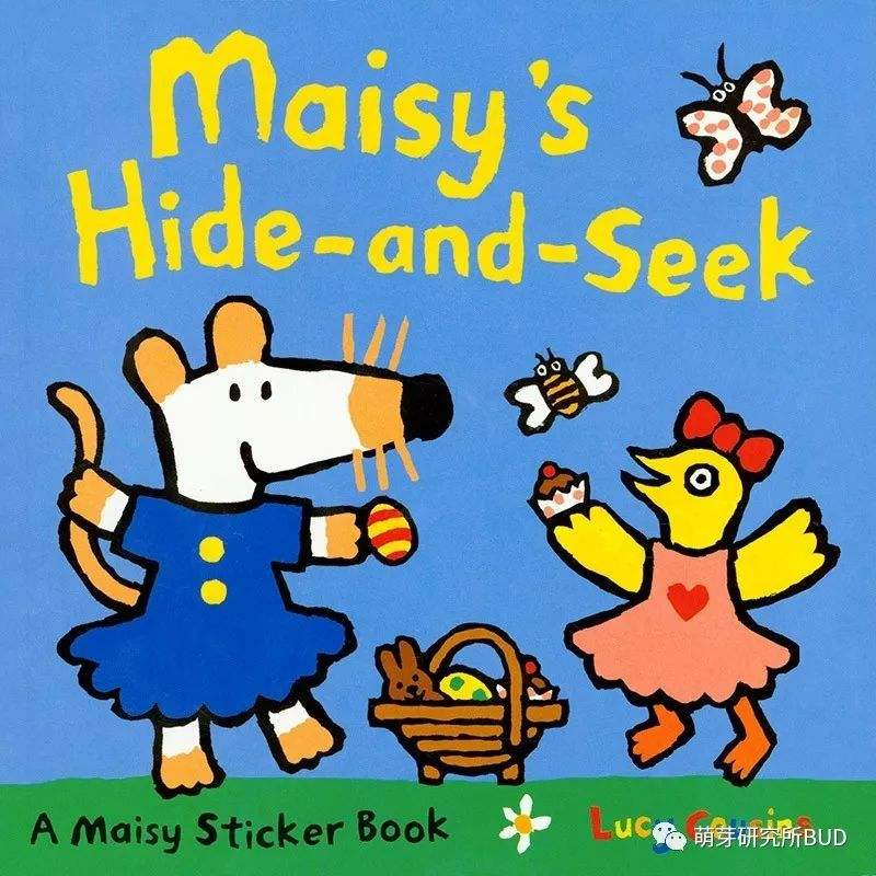 Maisy:Maisy's Hide-and-Seek Sticker Book