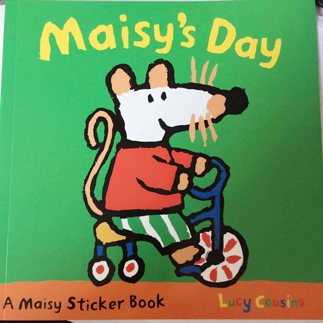 Maisy:Maisy's Day Sticker Book