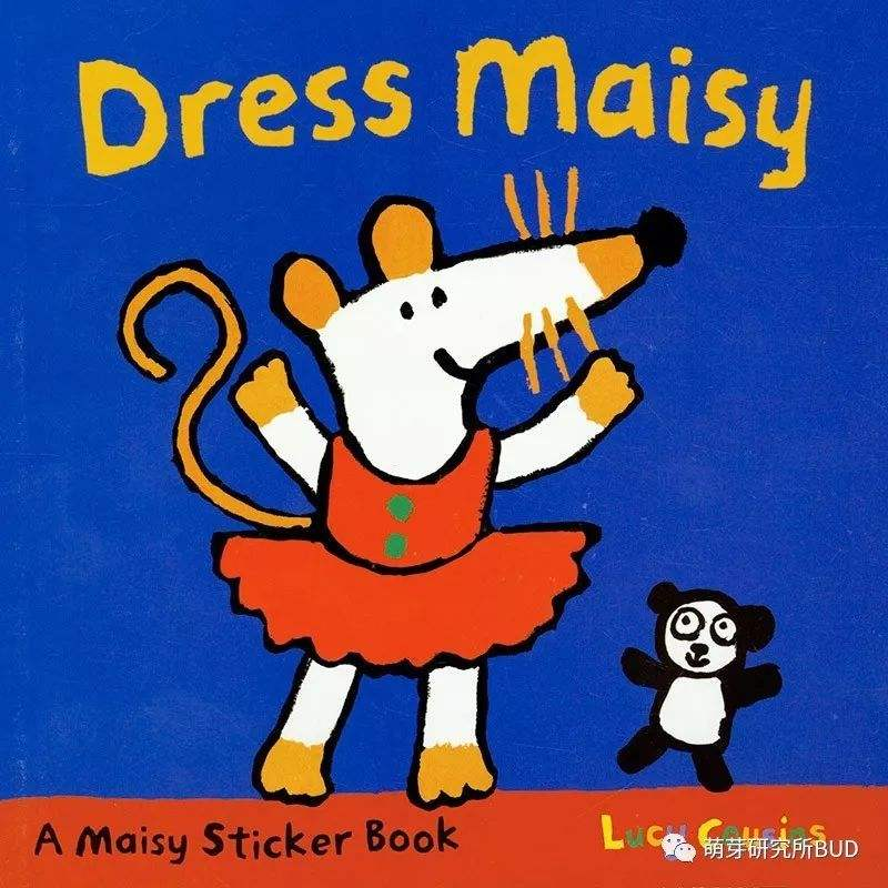 Maisy:Dress Maisy Sticker Book