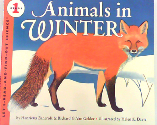 Let's read and find out science:Animals in Winter  L2.5