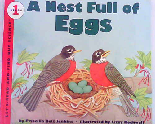 Let's read and find out science:A Nest Full of Eggs  L3.1